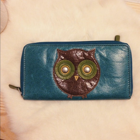 73 Off Fossil Clutches Amp Wallets Fossil Owl Wallet