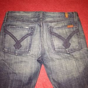 7 for all Mankind Jeans - 7 For All Mankind Dojo Jeans - Rothchild