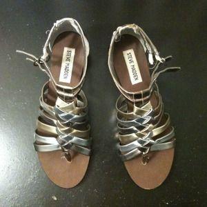 Steve Madden Gladiator Sandals size 6