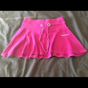 bebe flared mini skirt on Poshmark