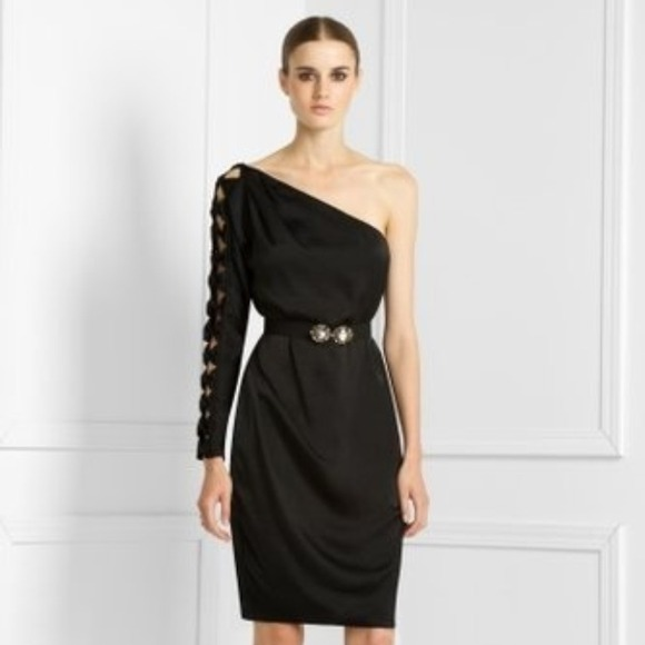 Bcbgmaxazria Dresses Hpnew Bcbg Max Azria One Shoulder Black Dress