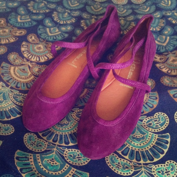 671477e1ebd Jeffrey Campbell Shoes - Purple suede Jeffrey Campbell Xster