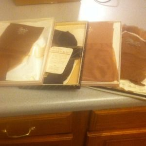 Other - Vintage nylons... 4 boxes. New. Great pin up style