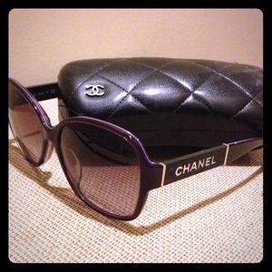 CHANEL Accessories - HOST PICK! CHANEL Sunglasses - Purple and Abalone