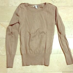 Forever 21 tan sweater
