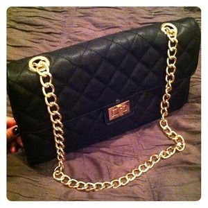 Quilted Faux Leather Shoulder Bag Forever 21 46