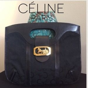 🎉HOST PICK🎉  RARE CÉLINE HORSE CARRIAGE BAG