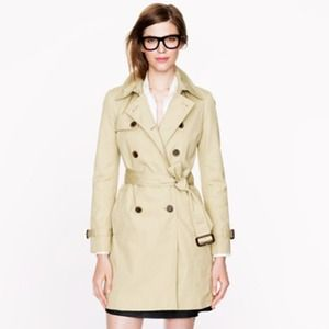 WANTED: J. Crew Beige Icon Trench Coat