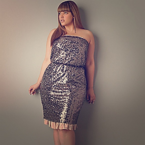 4ed50403926 Pewter Sequin Cocktail Dress