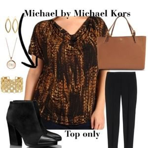 MICHAEL KORS TOP REDUCED