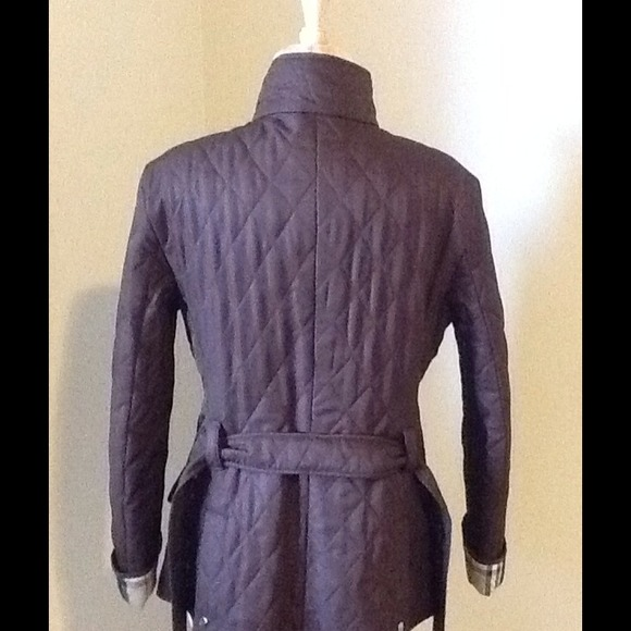 54% off Burberry Outerwear - 💢SOLD ON EBAY💢 Authentic Burberry ... : burberry quilted jacket ebay - Adamdwight.com