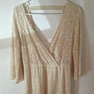 🎉Host Pick🎉Crochet Highlow dress