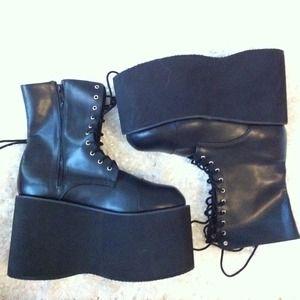 Boots - platform boots