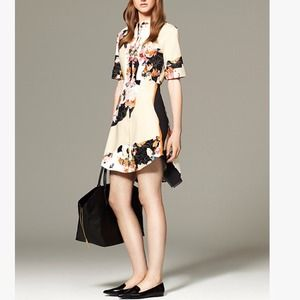 Phillip Lim Dress in Paper Floral Print