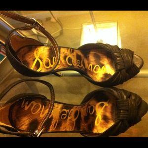 Sam Edelman Sylvie Leather Sandals !!!