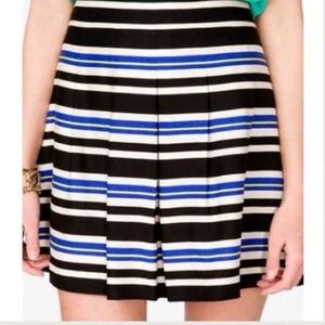 XX BUNDLEDXX F21 striped a-line skirt.