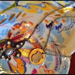 Pretty double strand necklace