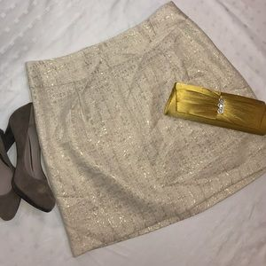 Merona Metallic Mini Skirt