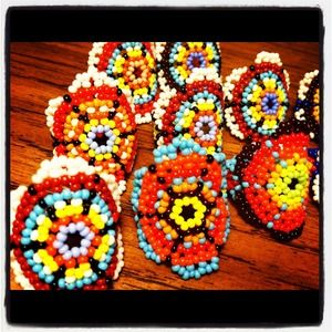 Jewelry - Beaded Rings from Mexico
