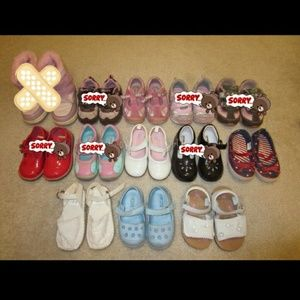 Girls Toddler Shoes,  Sandals and Sneakers