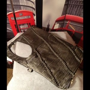 99e48e7d1fdf Bags - Devil Wears Prada Inspired Pewter Bag