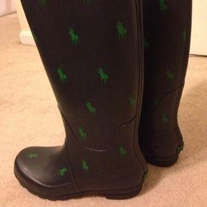 Polo Rain Boots Womens - Cr Boot