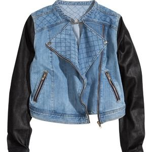 Jackets & Blazers - New Biker Jean Jacket