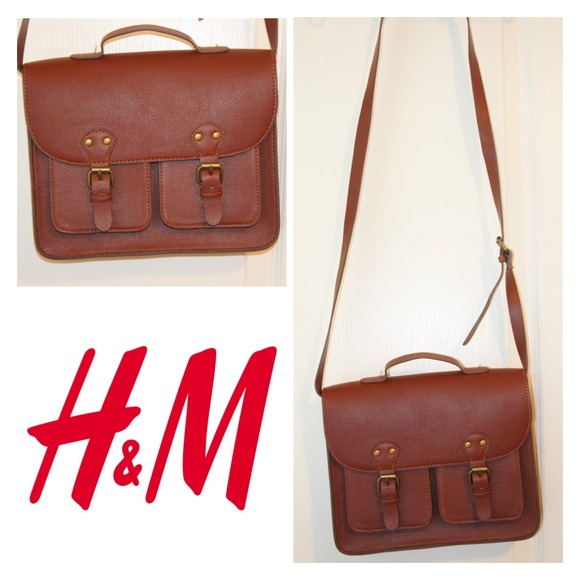 H&M - H&M Brown Satchel Bag from Athina's closet on Poshmark