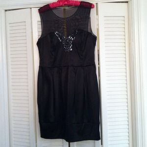 Dresses & Skirts - Party dress with studded butterfly