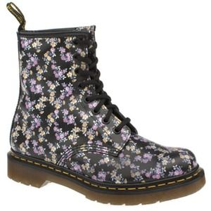 -REDUCED- Women's size 6 floral print Dr. Marten's