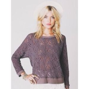 LOOKING FOR Free People All Over Lace Pullover