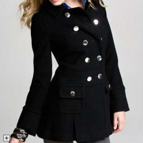 78% off Express Outerwear - Express Military Style Wool Peacoat ...