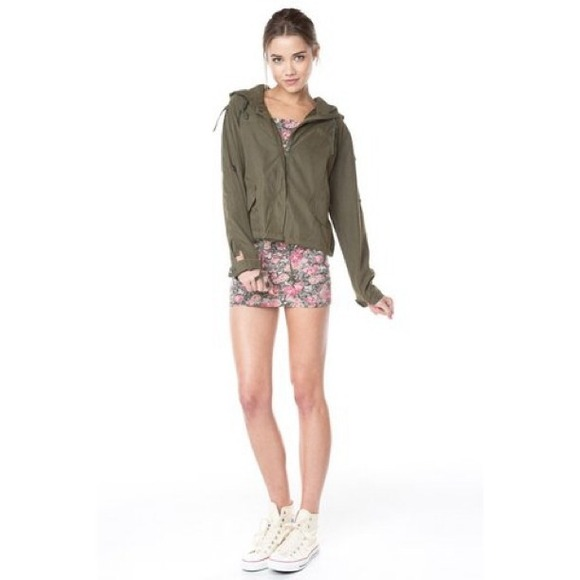 Brandy Melville Outerwear - 🚫SOLD🚫 Brandy Melville Hailey Jacket ...