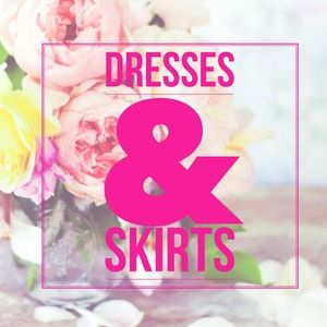 Maxi, midi, short dresses and skirts