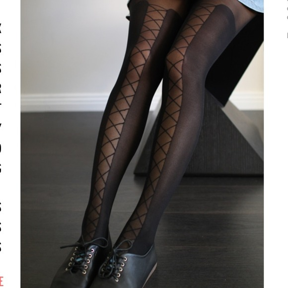 44d98172f 🎉Host pick! 🎉 reduced Lace tie up tattoo tights