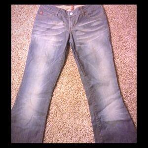 Miss Sixty Denim Jeans Extra Low Tommy Flared