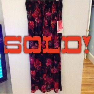 New Plus-Size Floral Maxi Dress!