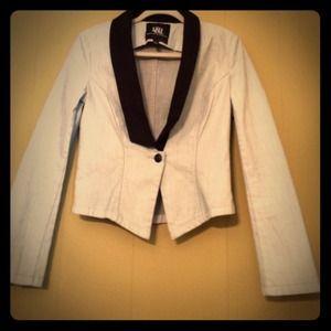 Jackets & Blazers - HP🎊🎉Denim Tuxedo Jacket by Rock & Republic!