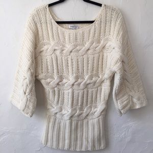 Bebe chunky knit sweater