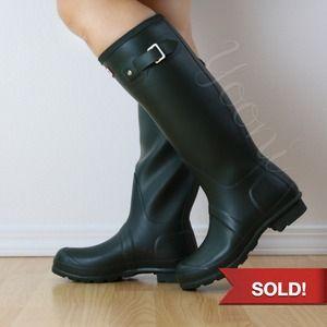 HUNTER Boots in Hunter Green