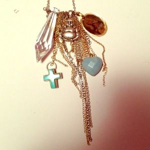 Jewelry - Tarina Tarantino Necklace / Mixed Metal