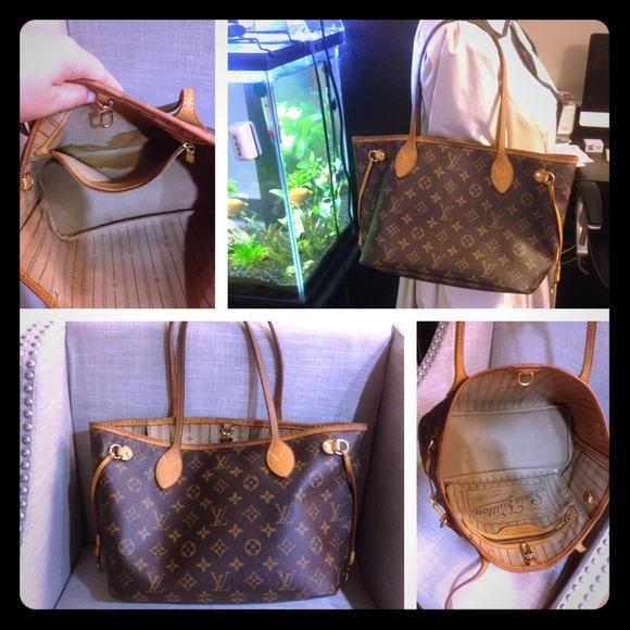 c6862f7bb60 Authentic Louis Vuitton Monogram Neverfull PM