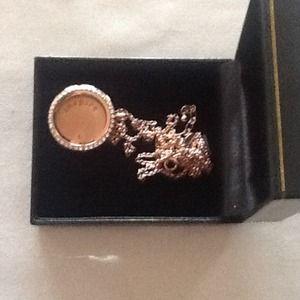 Origami Owl Living locket in rose gold