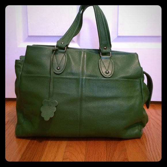 80% off GAP Handbags - Gap green leather tote from Michelle's ...