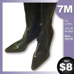 Tall Black Boots by FRANCO SARTO