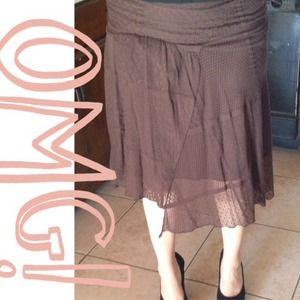 Dresses & Skirts - Dark brown skirt