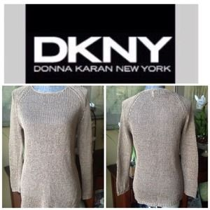 DKNY Tops - DKNY Chino Color Long Sleeve Tunic.  NWT.