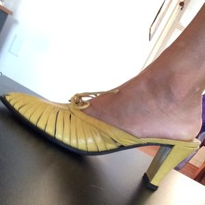Shoes - Italian real leather heels