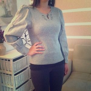 💢SOLD💢Gorgeous vintage sweater, puffy sleeves 💗