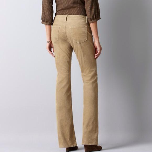 83% off LOFT Pants - ⚡️️SALE⚡️LOFT - curvy boot corduroy ...